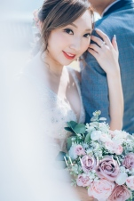 婚禮 光影 wedding day big day Kerry hotel four seasons hotel icon 婚展 oveseas pre-wedding-80