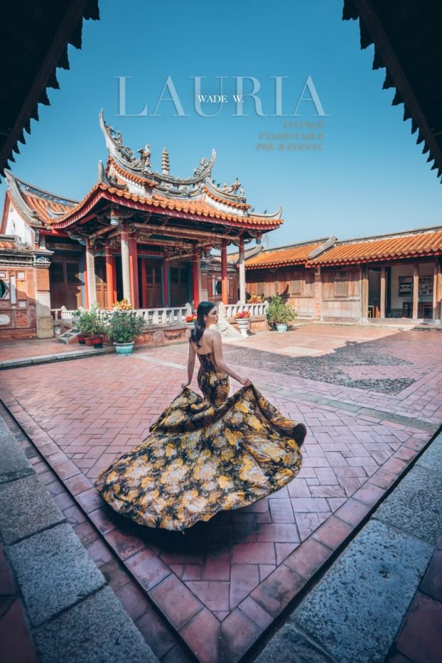 16 2048 pre-wedding fashion portrait 婚紗 香港 雜誌 vintage 復古